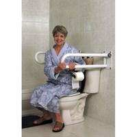 HealthCraft P.T. Rail Floor Mast - Toilet Roll Holder