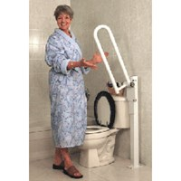 HealthCraft PT Rail Floor Mast - White