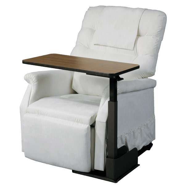 Deluxe Seat Lift Chair Overbed Left Side Table ...  sc 1 st  MaxiAids & MaxiAids | Deluxe Seat Lift Chair Overbed Left Side Table islam-shia.org