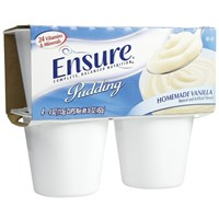 Ensure Pudding - Vanilla- 4 oz -Case of 12