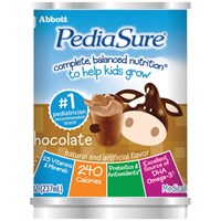 PediaSure Shake - Chocolate - 8-oz Cans - 24-cs