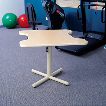 Hand Therapy Table with Dual Comfort Recesses