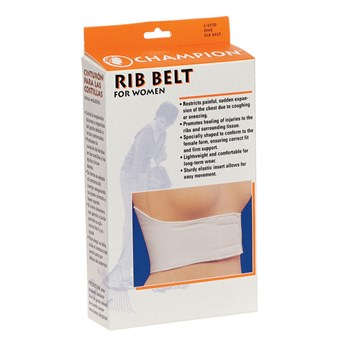 Rib Belt -Womens, Size Medium