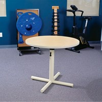 Round Group Therapy Pedestal Table- 47-in. Diam.