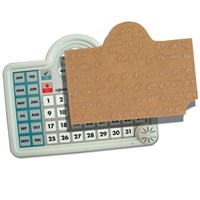 Braille Sticker for Lifetime Voice Calendar Talking Organizer