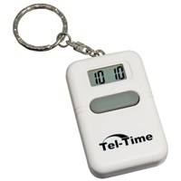 Talking Key Chain Square - White
