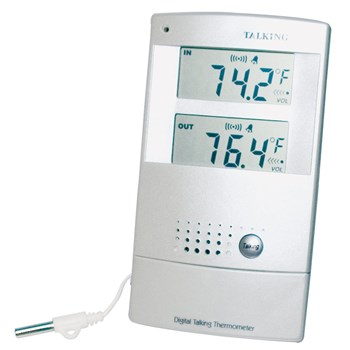 Spanish Talking Indoor-Outdoor Digital Thermometer