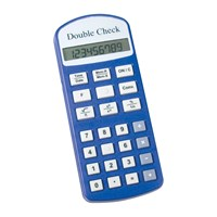 Picture of Double Check Talking Financial Calculator