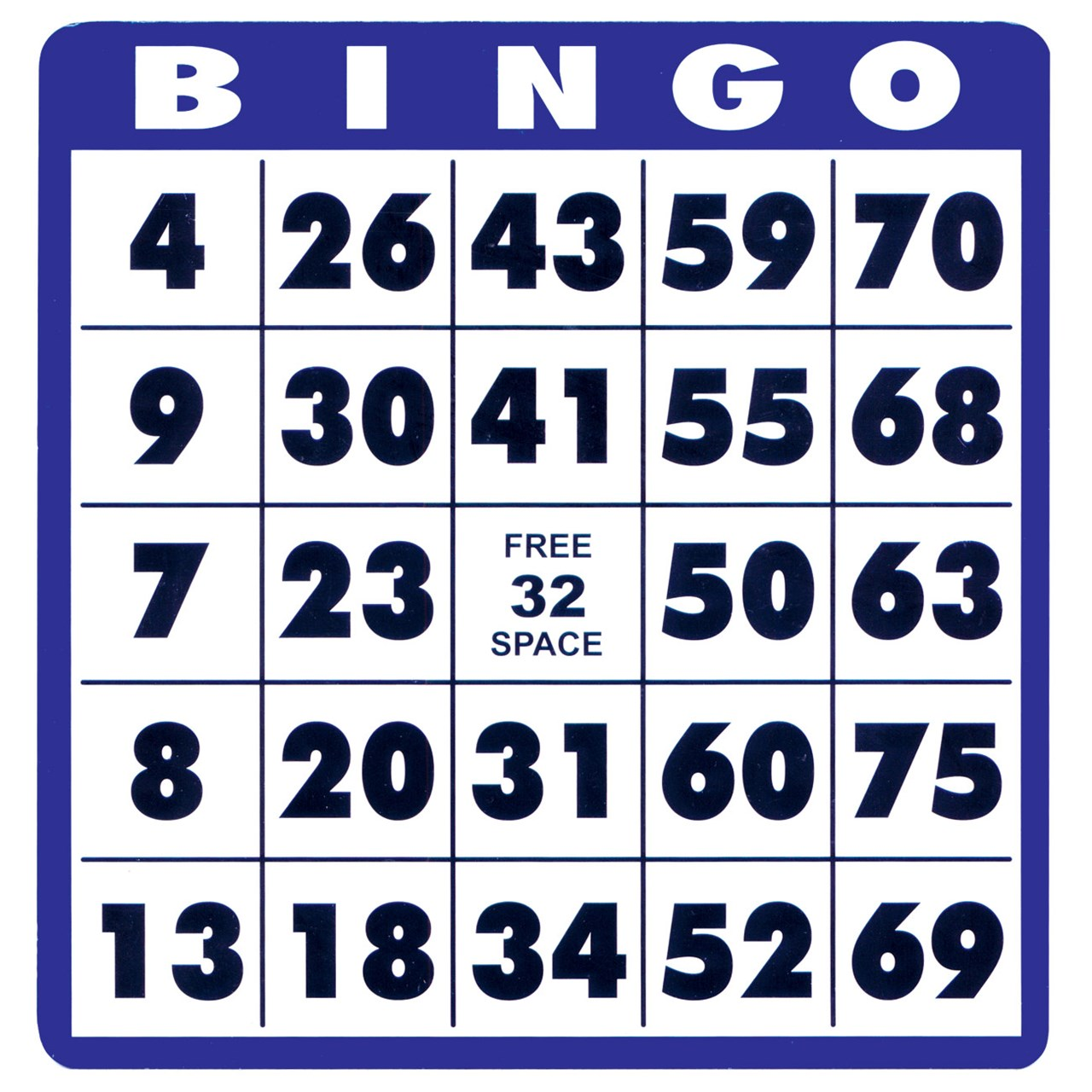 This is a graphic of Refreshing Bingo Cards Printable