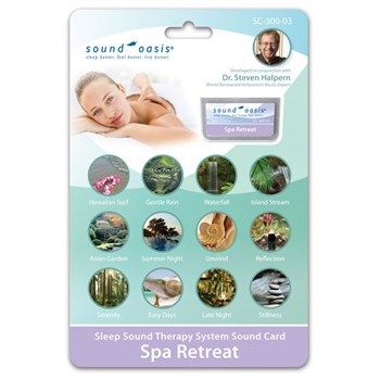 Spa Therapy Sound Card for Sound Oasis System