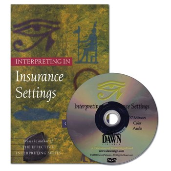Interpreting in Insurance Settings