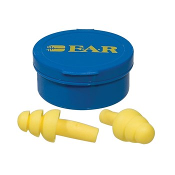 EAR Express Pod Ear Plugs -Box of 100 pairs - Corded