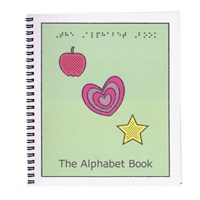 Childrens Braille Alphabet Book