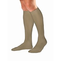 Jobst Mens Dress Khaki Knee High Socks- Large