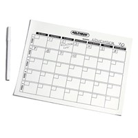 Magnetic Write-On-Wipe-Off Generic Calendar