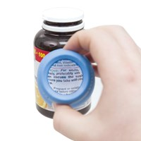 Magnifying Medi-Grip Medicine Bottle Cap Remover