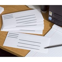 Low Vision Number 10 Envelopes- 100-Pack