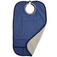 Quick Bib Clothing Protector- Medium Blue