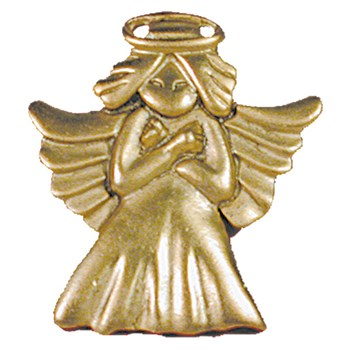 Love Angel Pin - Gold