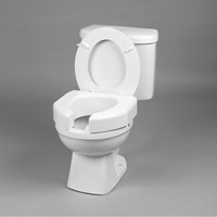Basic Elevated Toilet Seat- Open Front