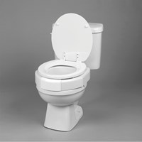 Secure-Bolt Elevated Toilet Seat