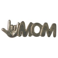 I Love You Mom Pin