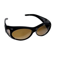 Fitovers Sunglasses-Aurora- Olive-Peach-Amber Lens