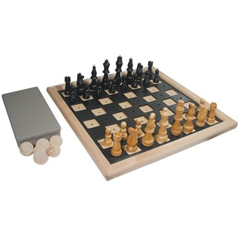 Deluxe Chess and Checkers Set
