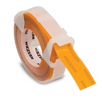 Orange Vinyl Label Tape - 0.50 x 144-in - One Roll
