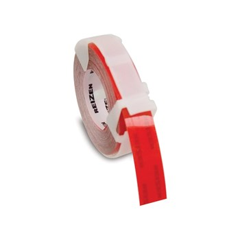 Red Vinyl Label Tape - 0.50 x 144-in - One Roll