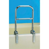 Dual Level Bathtub Safety Rail- Chrome Finish