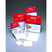 TIELLE Hydropolymer Dressing Box of 10 - Pad area 1.25 x 2