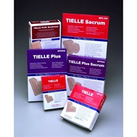 TIELLE PLUS Hydropolymer Dressing Box of 10