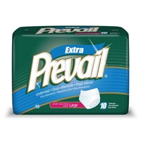 Prevail Adjust. Protective Underwear- Large- 64-cs