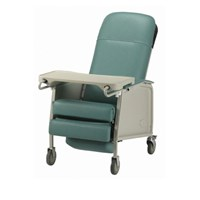 3-Position Recliner Geri Chair - Jade