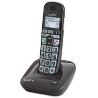 Clarity D703 35dB DECT 6.0 Amplified Low Vision Cordless Phone w-CID