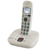 D712 30dB DECT 6.0 Amplified Low Vision Cordless Phone-Answer Machine