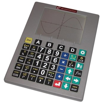 Low Vision Talking Scientific Graphing Calculator-English-Spanish-Silv