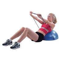 Picture of CanDo Exercise Core-Training Vestibular Dome-21-in-w-Resistance Cords