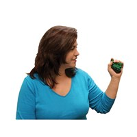 CanDo Digi-Flex Hand and Finger Exerciser - Green - Medium Intensity