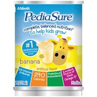 PediaSure Shake - Banana Cream - 8-oz Cans - 24-cs