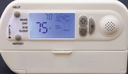 Talking Thermostat
