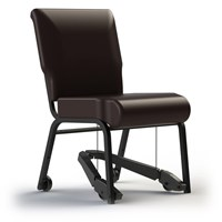 TITAN Royal EZ Assistive Chair - Metal with 20-in. Vinyl Seat