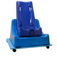 Skillbuilders 3-piece Mobile Floor Sitter-Feeder Seat System - Medium