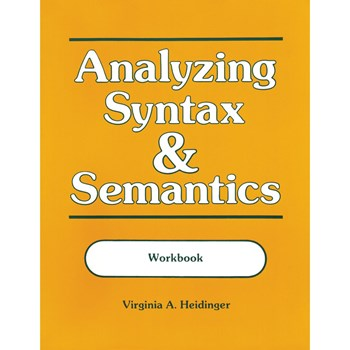 Analyzing Syntax and Semantics