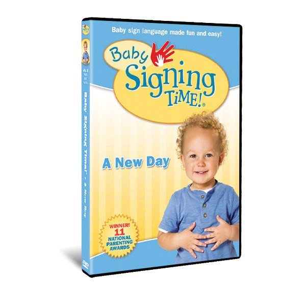 Maxiaids Baby Signing Time Vol 3 A New Day Dvd