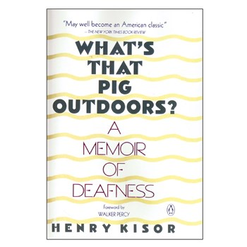 Book - Whats That Pig Outdoors?