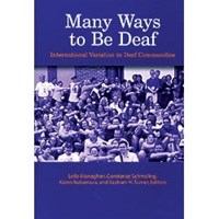 Book - Many Ways to Be Deaf