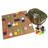 Picture of Braille Sudoku Puzzle Game with Board