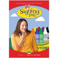 Signing Time Series 2 - Volume 12- Box of Crayons -DVD